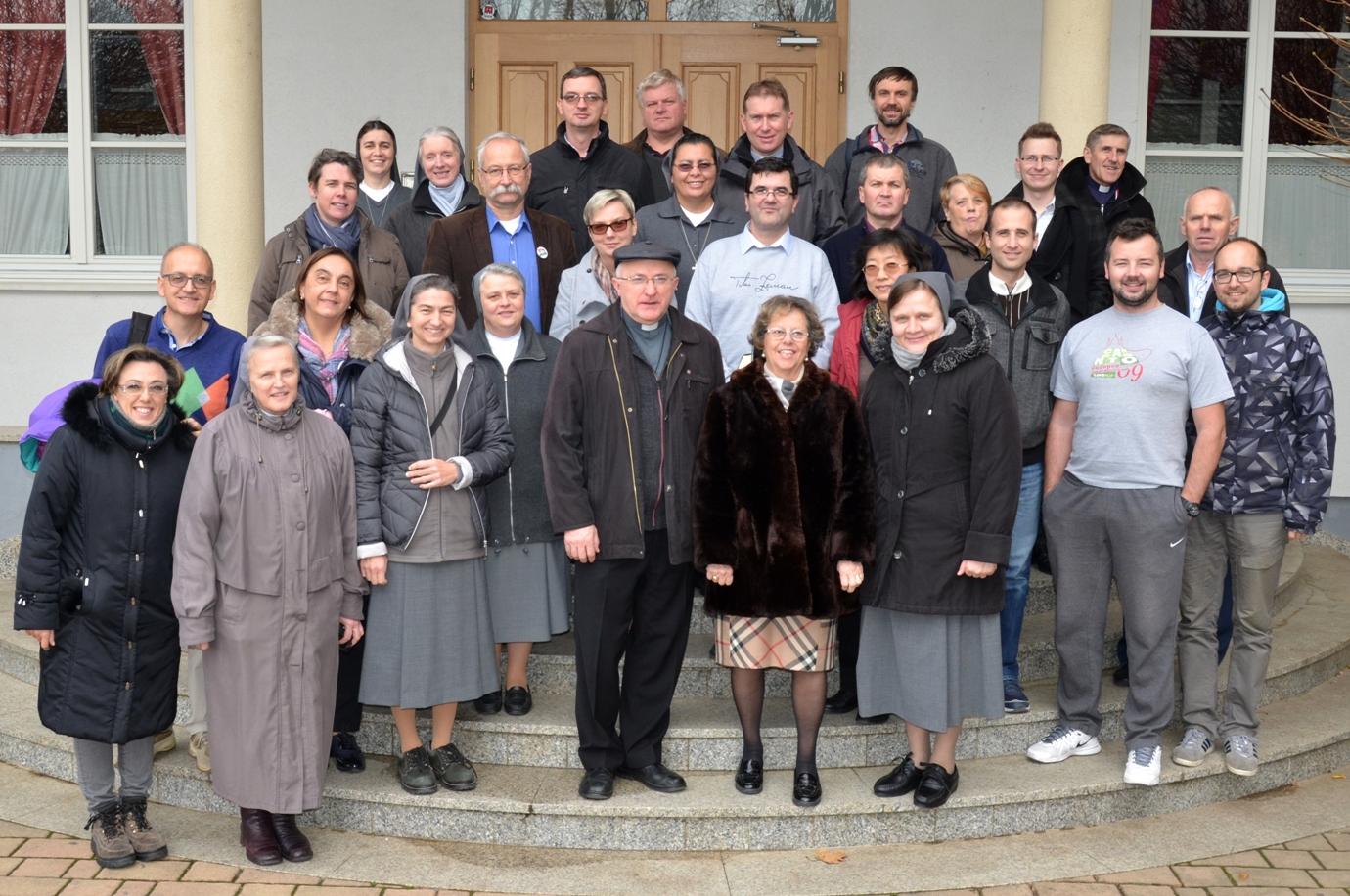 Společná fotografie účastníků