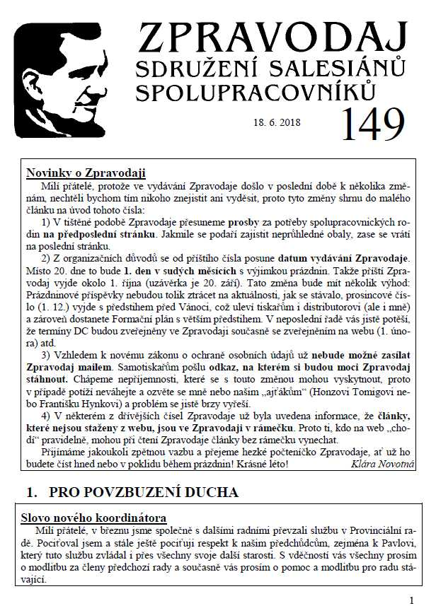 Zpravodaj č. 149