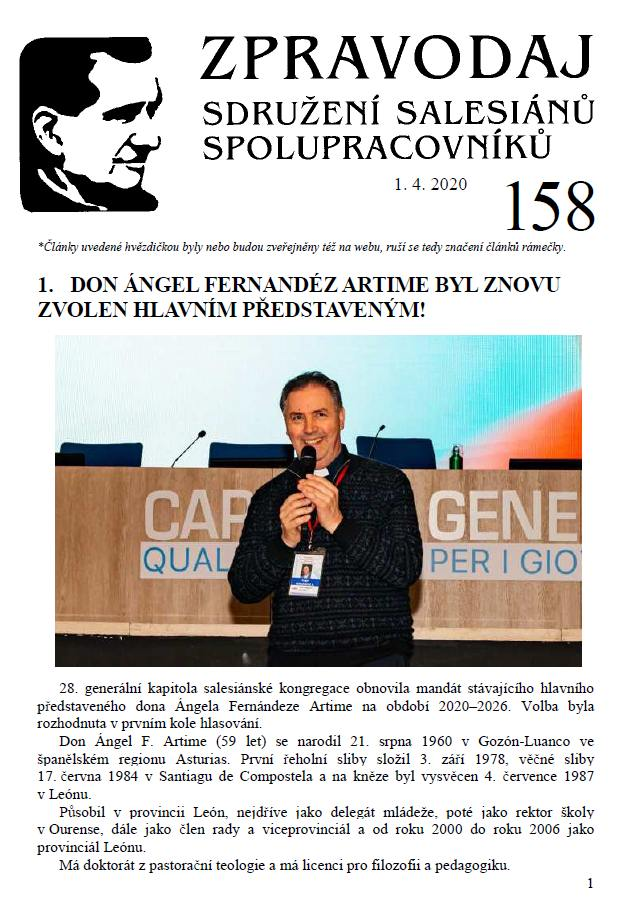 Zpravodaj č. 158