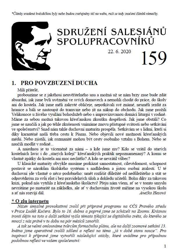 Zpravodaj č. 159