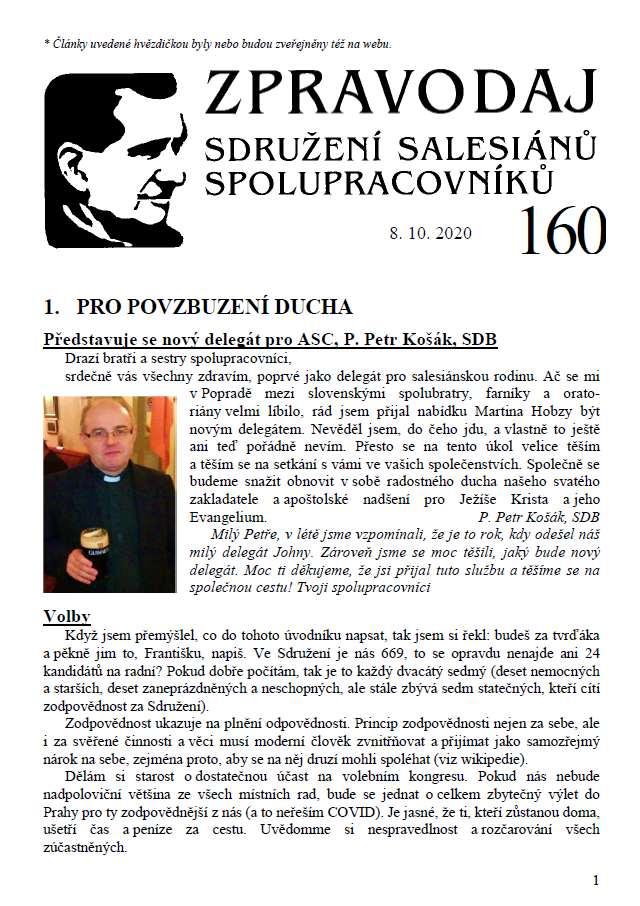 Zpravodaj č. 160