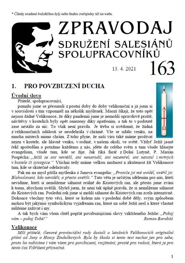Zpravodaj č. 163
