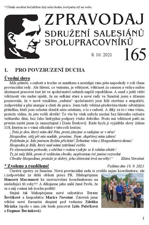 Zpravodaj č. 165